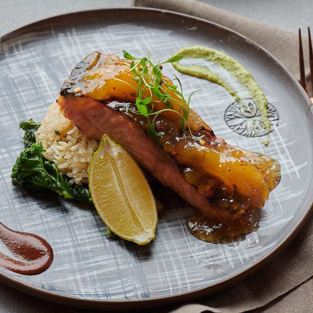 Madra Salmon dish