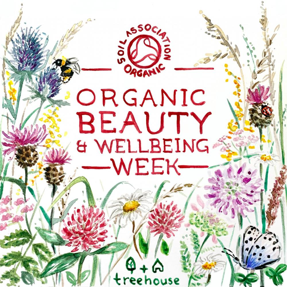 Illustration for Organic beauty week 2020