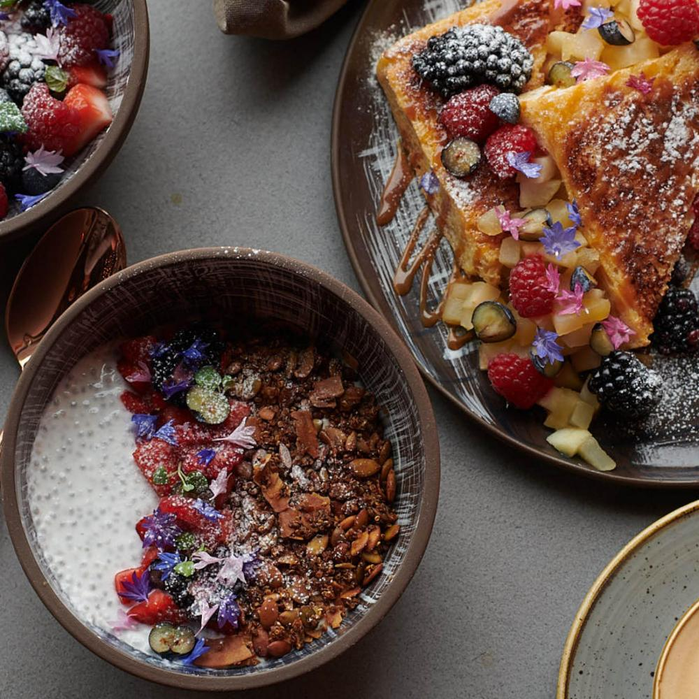 Madera's brunch dishes