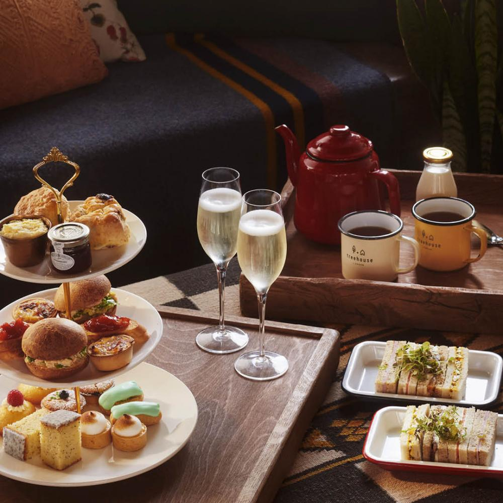 A traditional afternoon tea