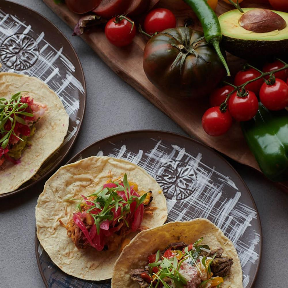 Madera tacos