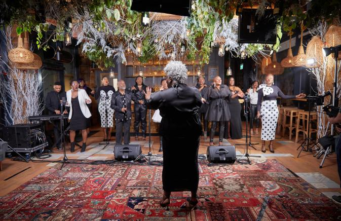 """Karen Gibson MBE and The Kingdom Choir Bring """"Joy to the World"""""""