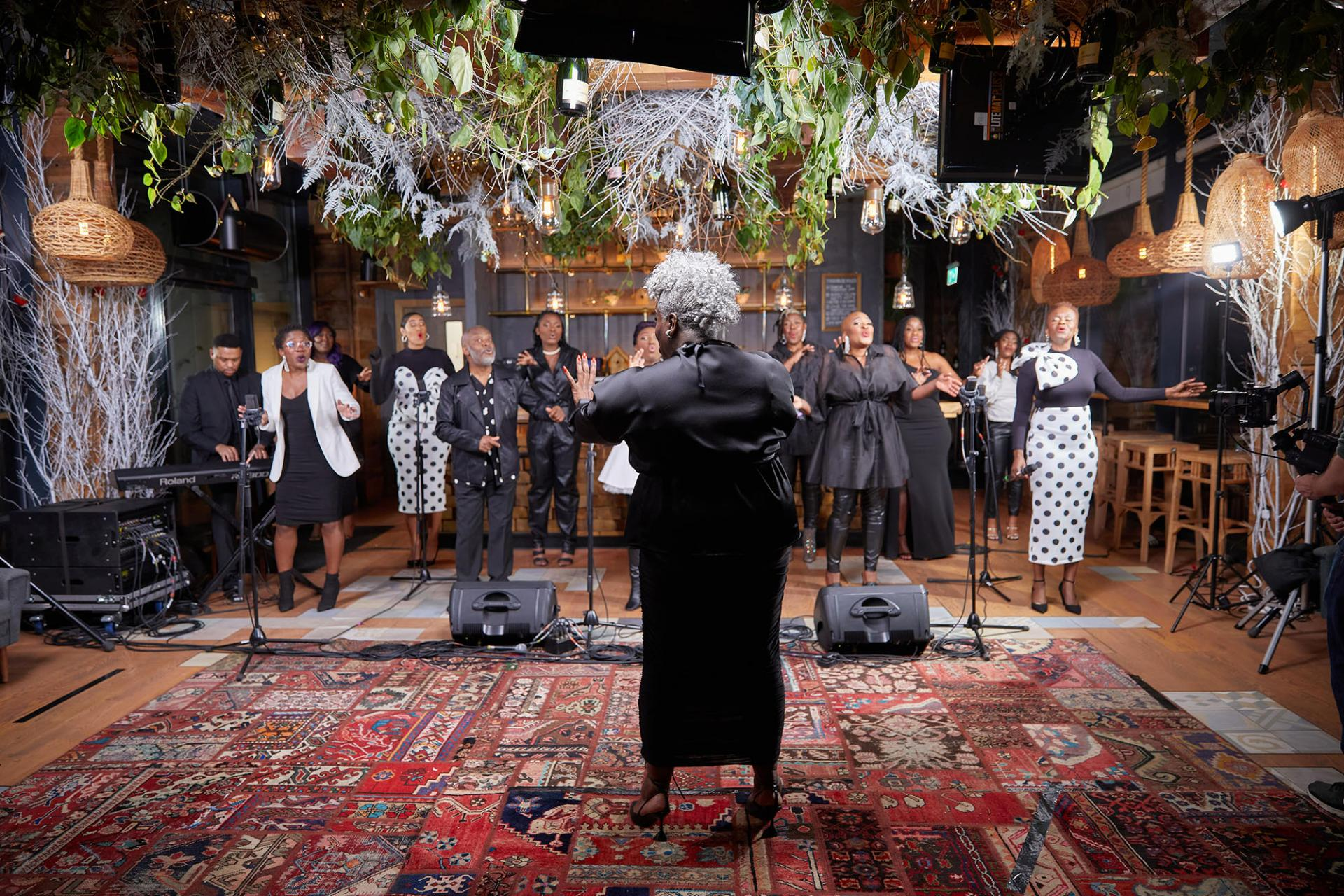 "Karen Gibson MBE and The Kingdom Choir Bring ""Joy to the World"""